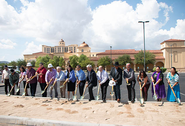 Pascua Yaqui Tribe Breaks Ground