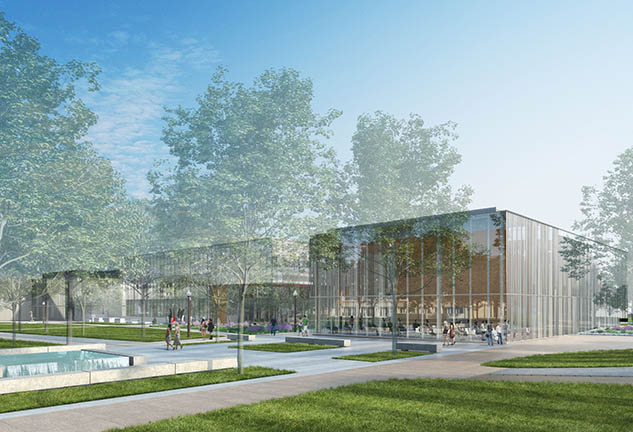 Washington University Welcome Center Rendering