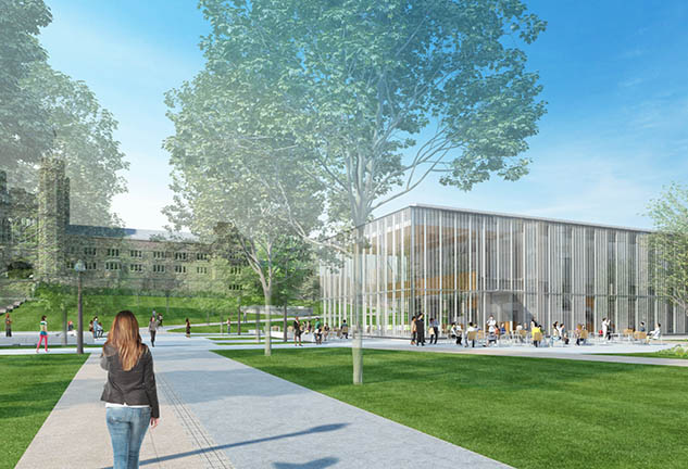 Washington University Dining & Environmental Programs Rendering