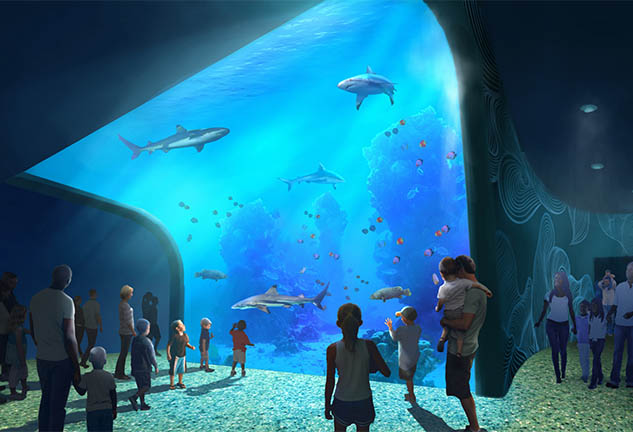 St. Louis Aquarium at Union Station Rendering
