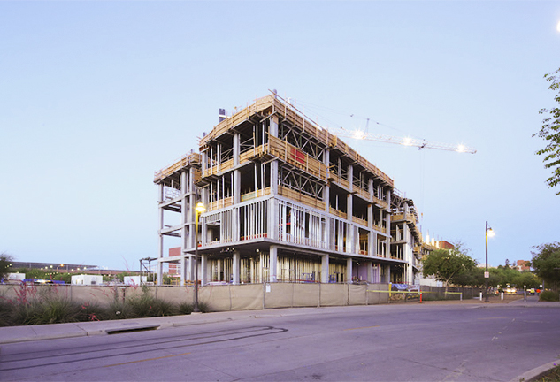 Biodesign Institute C at Arizona State University Tops Out