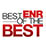 ENR best of the best logo