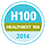 healthiest 100 workplaces in america logo
