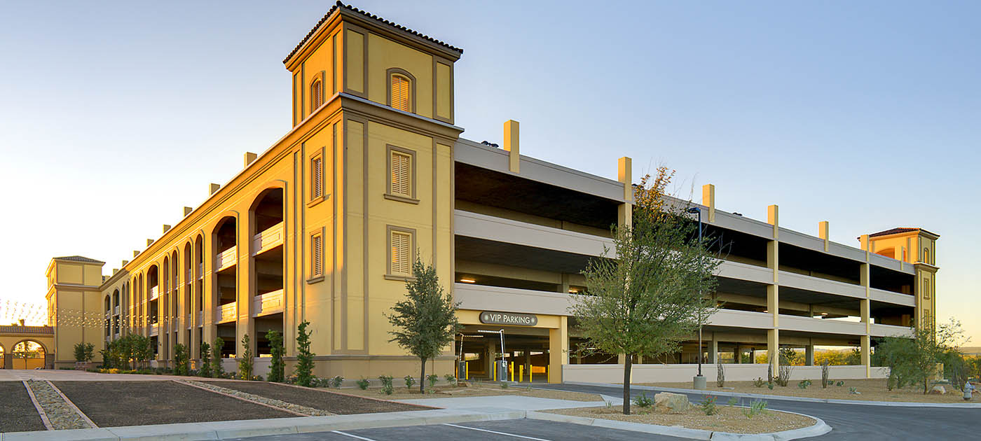 Casino del sol parking structure