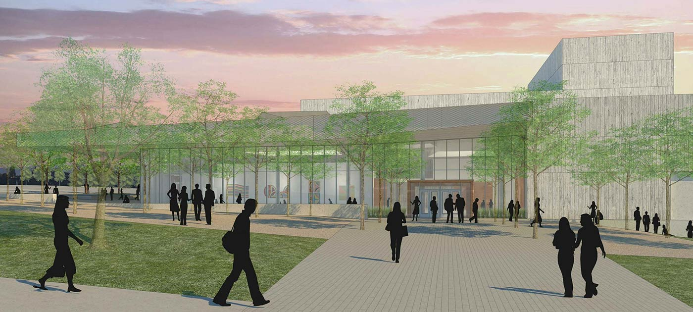 plano isd fine arts center rendering