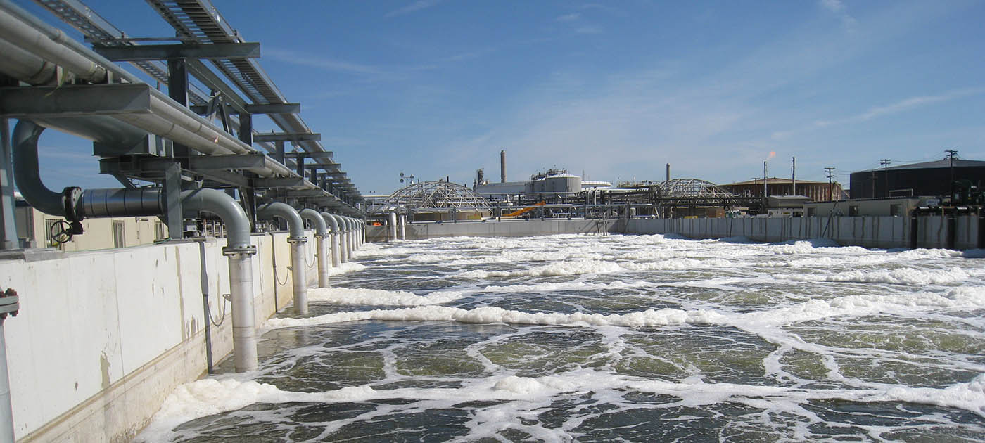 ConocoPhillips wastewater treatment plant