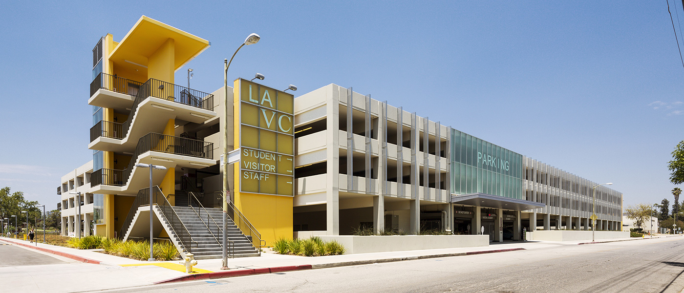 LACCD Valley College Monarch Center parking structure
