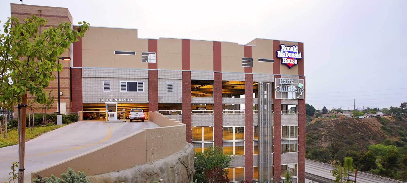 Rady Children's Hospital Parking Structure