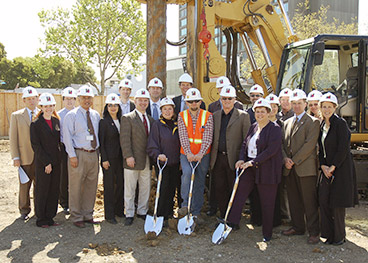 Breaking ground on the Kaiser Permanente Oakland replacement project