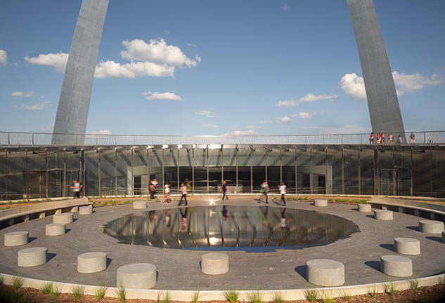 Entryway to Newly Renovated Gateway Arch Museum