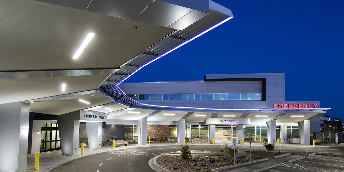 Yuma Regional Medical Center entrance