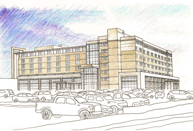 Rendering of Mercy Hospital Northwest Arkansas