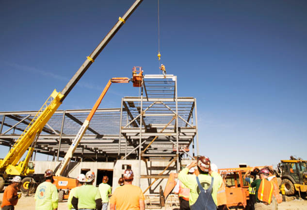 O'Fallon Justice Center Topping Out