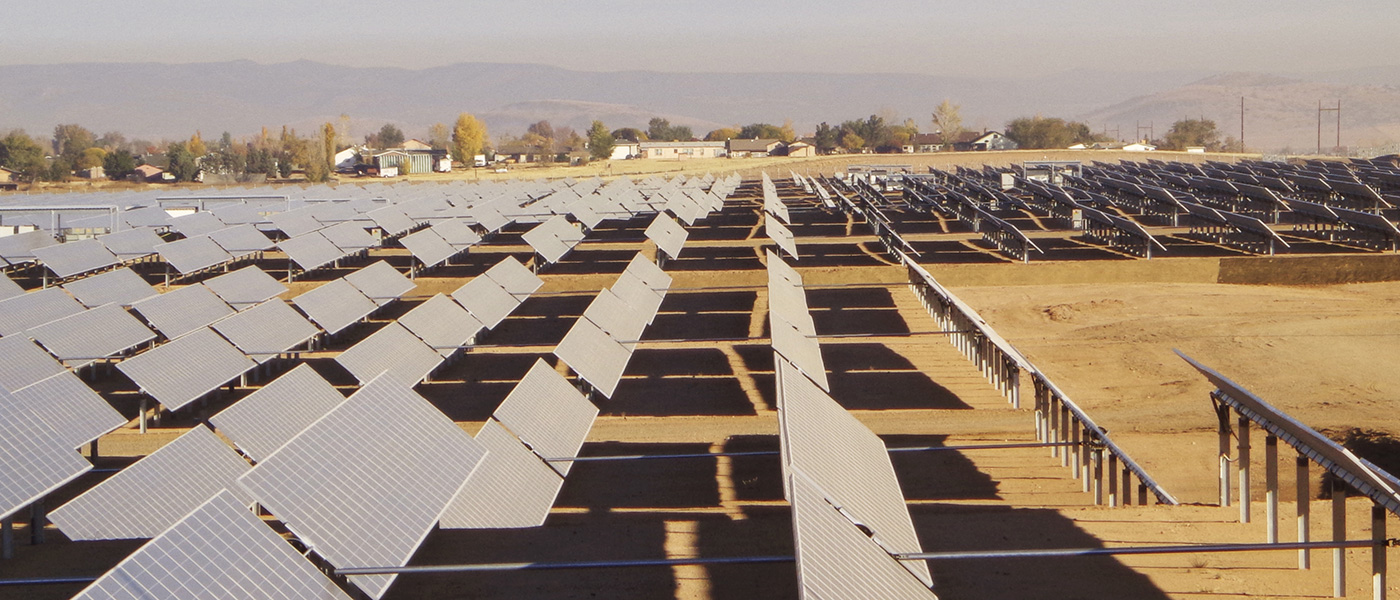 Chino Valley Solar Plant Solar Energy Construction