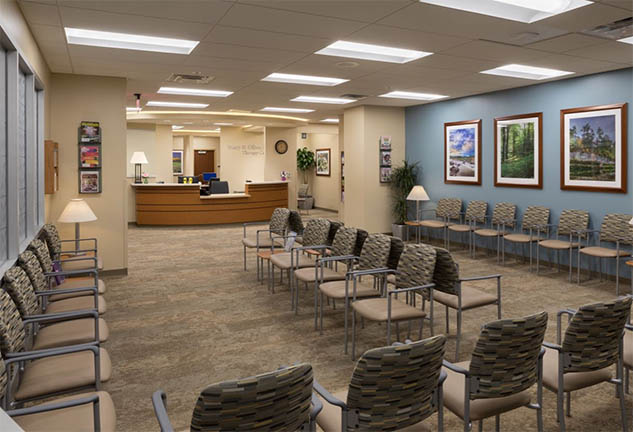 St. Luke's Hospital Outpatient Waiting Room