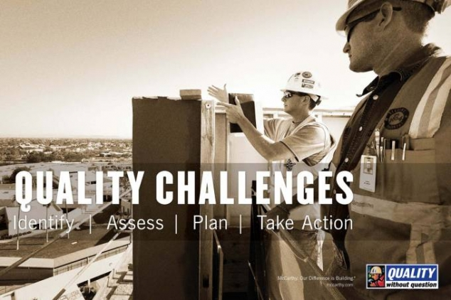 McCarthy Quality Challenges Brochure Cover