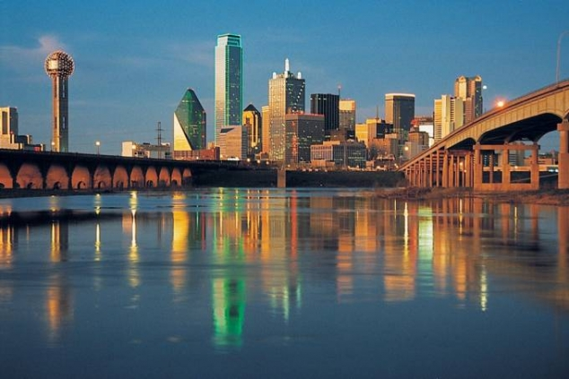 Dallas, Texas waterfront