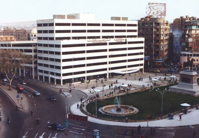 Ataba Square and Opera Square parking structures in Cairo, Egypt