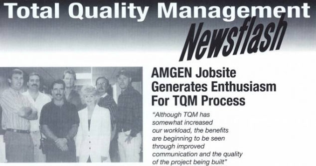 Total Quality Management Newsletter
