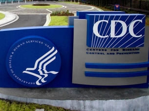 United States CDC sign