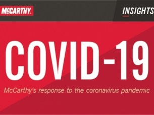 covid-19 McCarthy's response to the pandemic graphic