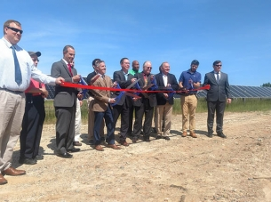 Ribbon Cutting Ceremony for Kentuck Solar Project