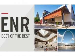 END Best of the Best Graphic with photos of McCarthy construction projects