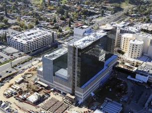 Loma Linda University Medical Center Aerial photo Healthcare Construction