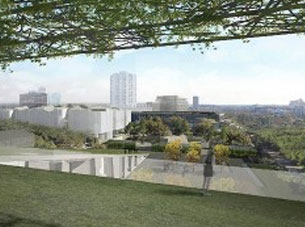 Houston Museum of Fine Arts rendering