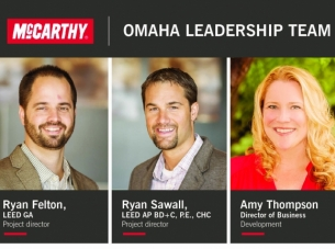 McCarthy Omaha Leadership Team