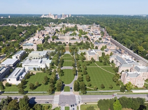 Washington University aerial