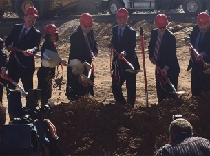 Anderson School of Management Groundbreaking