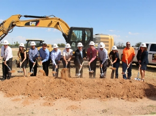 Casa Groundbreaking Team