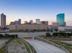 the Hemphill connector project in Fort Worth