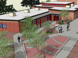 Mingus Union High School Rendering