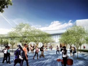 Plano Independent School District — Fine Arts Center Rendering