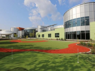 Ranken Jordan Putting Green, Ball Field and Nurses Station