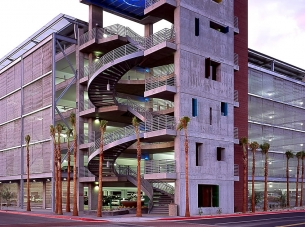 ASU Packard Drive Parking Structure
