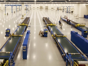 Boeing Composite Center of Excellence Conveyors