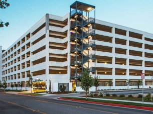 Community Regional Medical Center Parking Structure Exterior