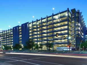 Hayden Ferry Lakeside Parking Garage in Tempe, Arizona