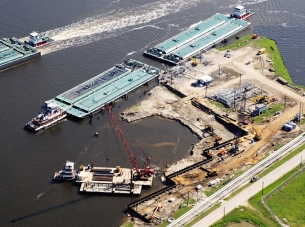 Sunoco Barge Docks A&D