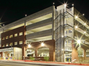 University of Arizona South Stadium Parking Structure