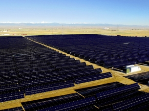 Utility-Scale Solar Array Silicon Ranch Colorado