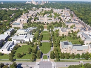 Washington University Aerial View