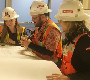 If you like to be challenged and can juggle many competing priorities, construction is a great career choice for you. — Meg
