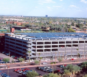 Arizona State University Packard Drive Parking Structure