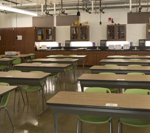 Bella Vista High School Updated Science Classroom