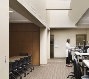 Workspace at CHI Health Creighton University Medical Center University Campus in Omaha, NE