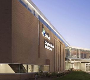 Ambulatory Building at CHI Health Creighton University Medical Center University Campus in Omaha, NE